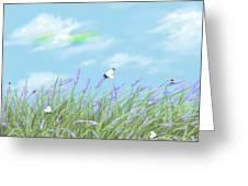 Lavander Greeting Card