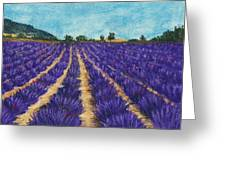 Lavender Afternoon Greeting Card