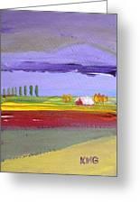 Lavender Hills Greeting Card
