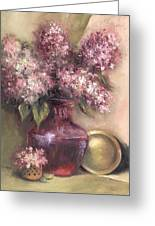 Lavender Hydrangeas Greeting Card