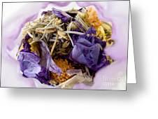 Lavender Potpourri Greeting Card