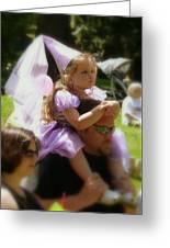 Lavender Princess Greeting Card