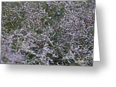 Lavender Silver Lining Greeting Card