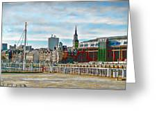 Law Courts Newcastle Upon Tyne Greeting Card