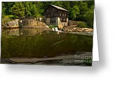 Lawrence County Grist Mill Greeting Card