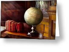 Lawyer - A World Traveler Greeting Card