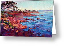 Layers Of Monterey Greeting Card