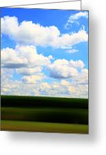 Layers Of Summer In Ohio Greeting Card