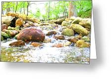 Lazy Rapids Open Greeting Card