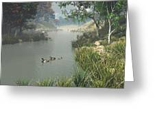 Lazy River Greeting Card