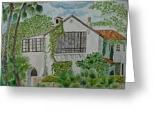 L.b. Clegg House In San Antonio Greeting Card