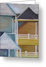 Lbi Rooftops Greeting Card