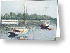 Le Bassin D'argenteuil Greeting Card