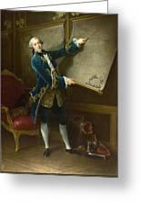 Le Comte De Vaudreuil Greeting Card