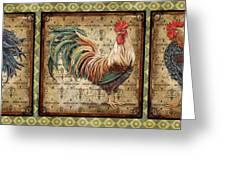 Le Coq Trio-c Greeting Card