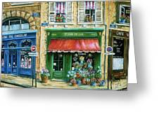 Le Fleuriste Greeting Card