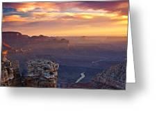 Le Grand Sunrise Greeting Card