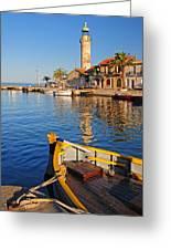 Le Grau Du Roi Lighthouse France Greeting Card