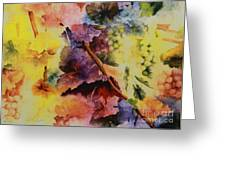 Le Magie D' Automne Greeting Card