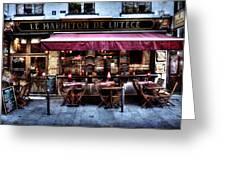 Le Marmiton De Lutece Paris France Greeting Card