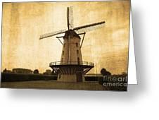 Le Moulin Jaune  Greeting Card
