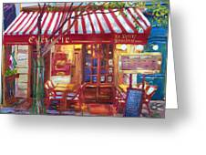 Le Petite Bistro Greeting Card