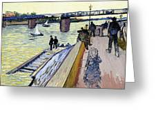 Le Pont De Trinquetaille Greeting Card