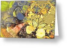 Le Printemps Des Papillons Greeting Card