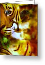 Le Tigre  Greeting Card