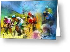 Le Tour De France 01 Greeting Card