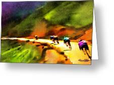 Le Tour De France 02 Greeting Card