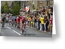 Le Tour De France 2014 - 4 Greeting Card