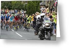 Le Tour De France 2014 - 5 Greeting Card