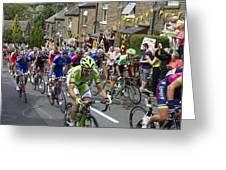 Le Tour De France 2014 - 7 Greeting Card
