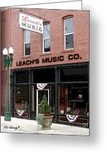 Leach's Music Greeting Card