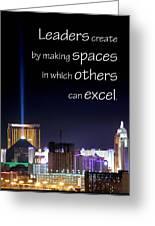 Leaders Create 21193 Greeting Card