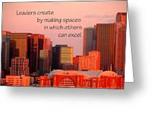 Leaders Create 21197 Greeting Card