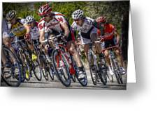 Leading The Race Greeting Card