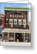 Leadville Saloon Greeting Card