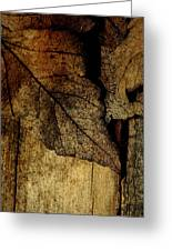 Leafwood Greeting Card