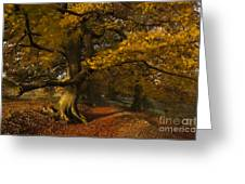 Leafy Lane Greeting Card