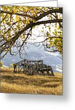 Lean To - Mormon Row - Grand Tetons Greeting Card