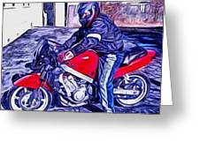 Learn How To Ride Greeting Card