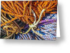 Learn The Ropes Greeting Card