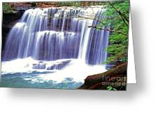 Leatherwood Falls Greeting Card