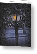 Leave The Light On Greeting Card