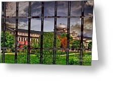 Leavenworth Federal Prison Greeting Card