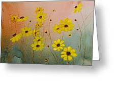 Leavenworth's Tickweed Greeting Card