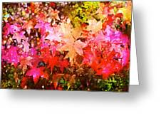 Leaves 11 Greeting Card