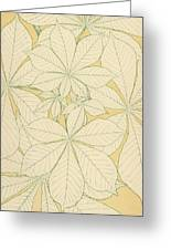 Leaves From Nature Greeting Card